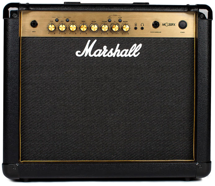 marshall mg30gfx mg gold combo 30 w electric guitar combo amp star 39 s music. Black Bedroom Furniture Sets. Home Design Ideas