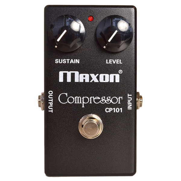 Compressor, sustain & noise gate effect pedal Maxon CP-101 Compressor