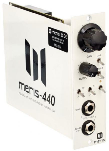 500 series components Meris 440 Mic Preamp 500 Series