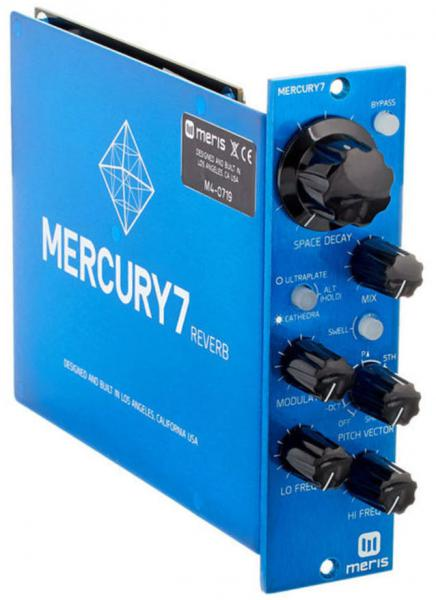 500 series components Meris Mercury 7 Reverb 500 Series