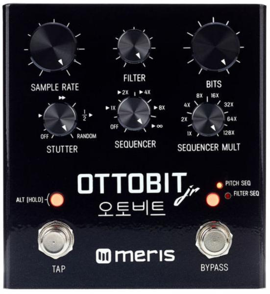 Modulation, chorus, flanger, phaser & tremolo effect pedal Meris Ottobit Jr.