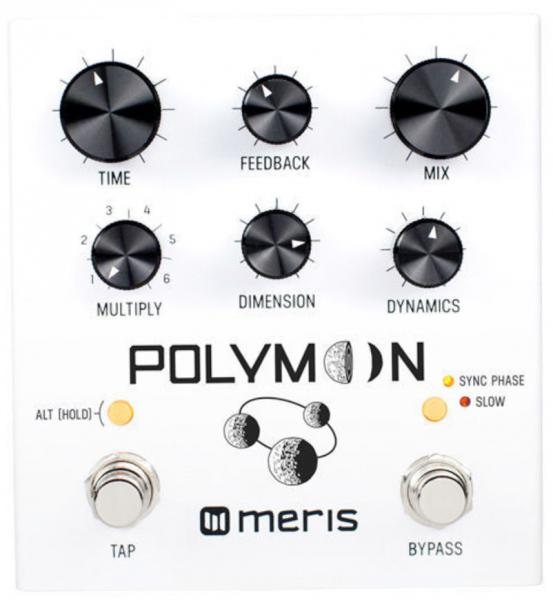 Reverb, delay & echo effect pedal Meris Polymoon Delay