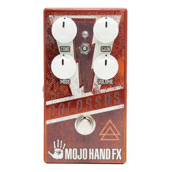Overdrive, distortion & fuzz effect pedal Mojo hand fx COLOSSUS
