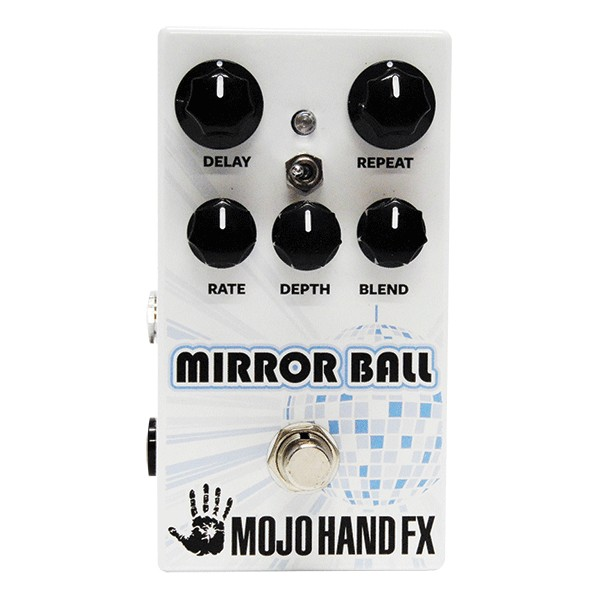 Reverb, delay & echo effect pedal Mojo hand fx MIRROR BALL