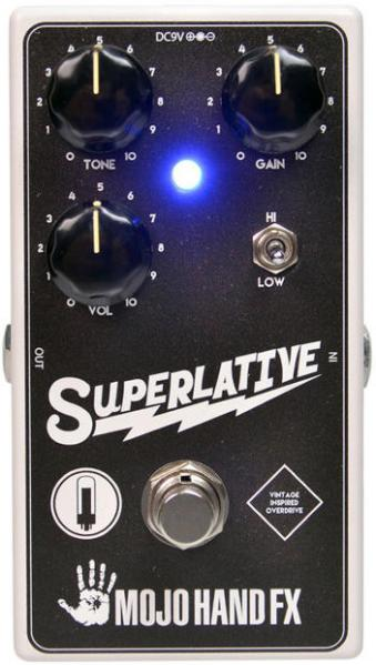 Overdrive, distortion & fuzz effect pedal Mojo hand fx Superlative