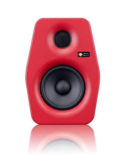 Active studio monitor Monkey banana Turbo 4 Red - One piece