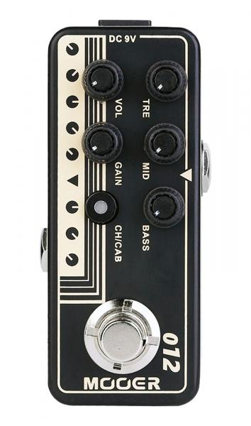 Overdrive, distortion & fuzz effect pedal Mooer 012 US GOLD 100