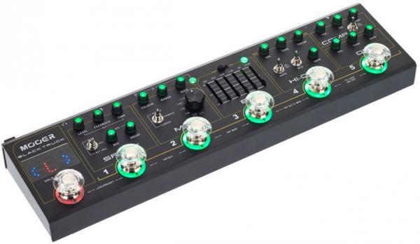Multieffect for electric guitar Mooer Black Truck