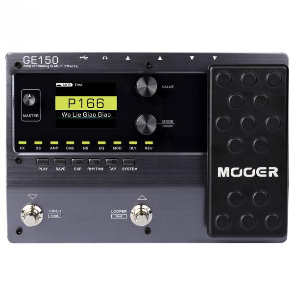 Multieffect for electric guitar Mooer GE150 AMP MODELLING & SYNTH & MULTI EFFECTS