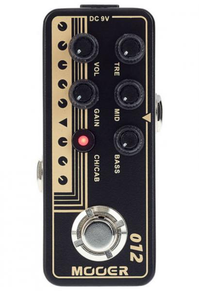 Electric guitar preamp Mooer Micro Preamp 012 Fried-Mien
