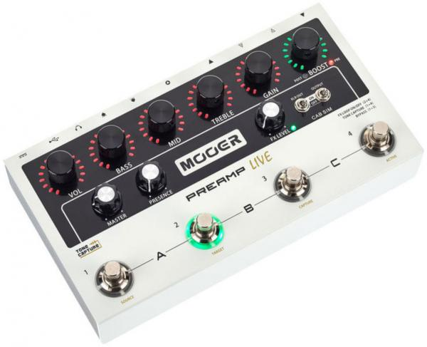 Electric guitar preamp Mooer Preamp Live