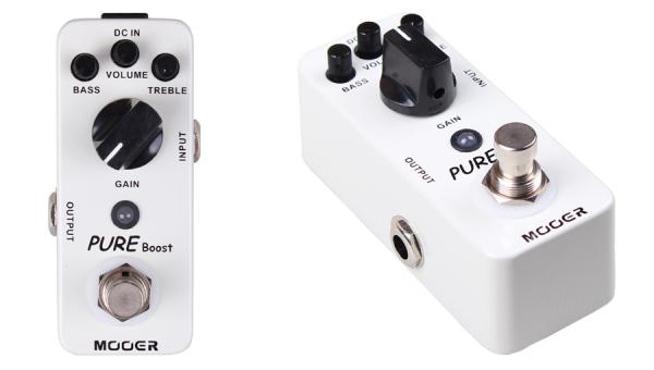 Compressor, sustain & noise gate effect pedal Mooer Pure Boost