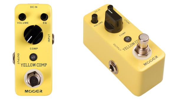 Compressor, sustain & noise gate effect pedal Mooer Yellow Comp