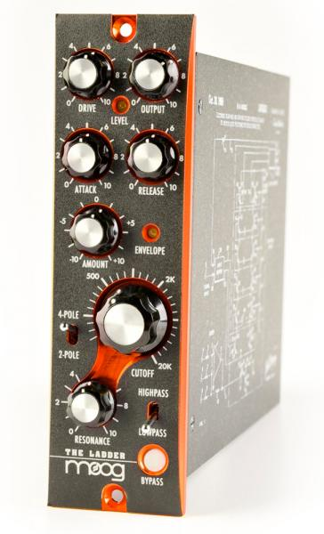 Effects processor  Moog THE LADDER FILTER 500