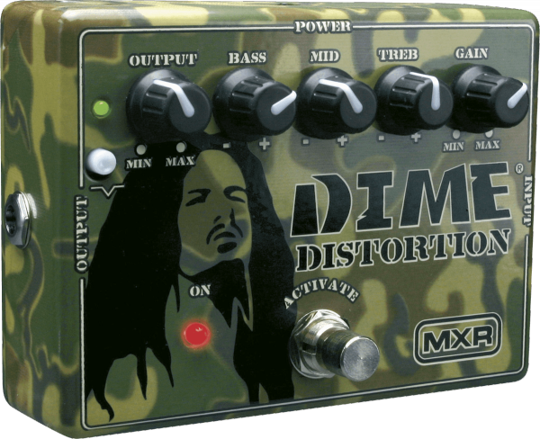 Overdrive, distortion & fuzz effect pedal Mxr MDD11 Dime Distortion
