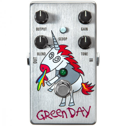 Overdrive, distortion & fuzz effect pedal Mxr DD25 Dookie Drive Unicorn