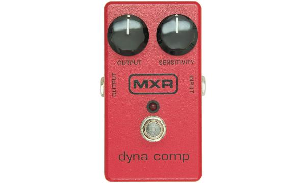 Compressor, sustain & noise gate effect pedal Mxr M102 Dyna Comp Compressor 1976