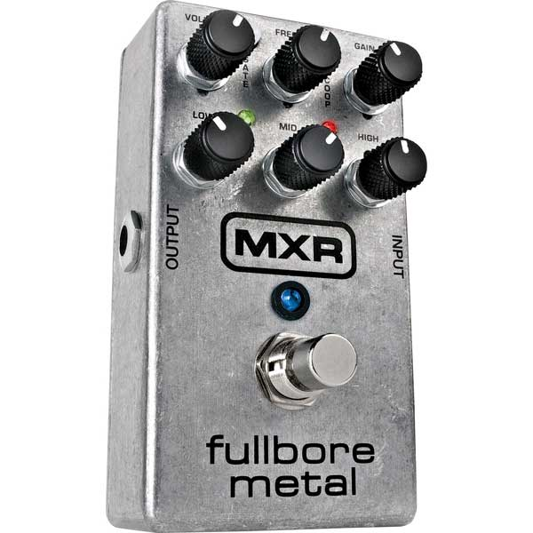 Overdrive, distortion & fuzz effect pedal Mxr M116 Fullbore Metal
