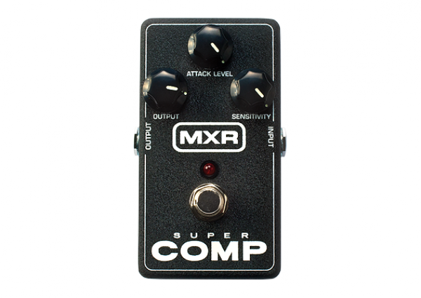 Compressor, sustain & noise gate effect pedal Mxr M132 Super Comp