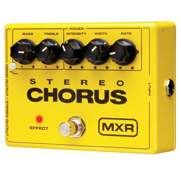 Modulation, chorus, flanger, phaser & tremolo effect pedal Mxr M 134 Stereo Chorus