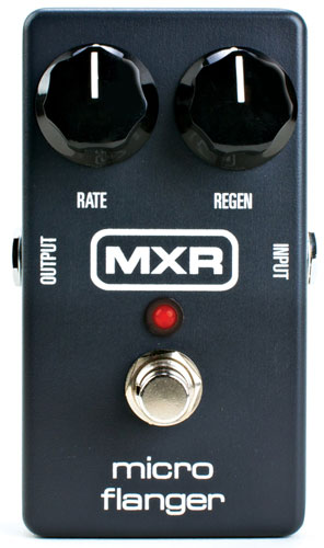 Modulation, chorus, flanger, phaser & tremolo effect pedal Mxr M152 Micro Flanger
