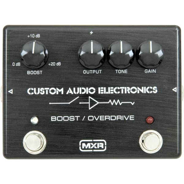 Volume, boost & expression effect pedal Mxr MC402 CAE Boost/Overdrive