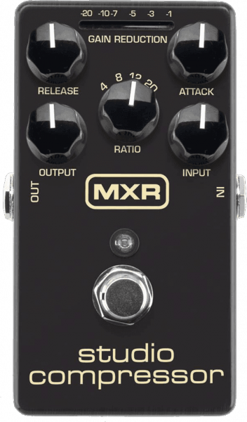 Compressor, sustain & noise gate effect pedal Mxr M76 Studio Compressor