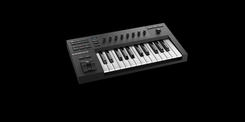native instruments komplete kontrol a25 controller keyboard star 39 s music. Black Bedroom Furniture Sets. Home Design Ideas