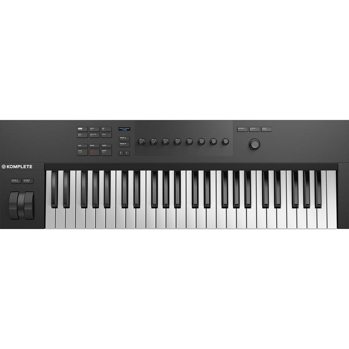 native instruments komplete kontrol a49 controller keyboard star 39 s music. Black Bedroom Furniture Sets. Home Design Ideas