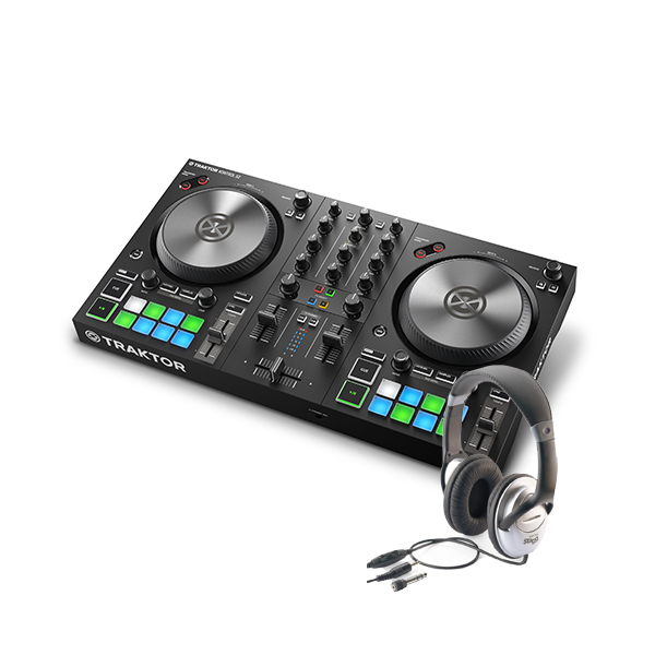 Deejay sets Native instruments Kontrol S2 MK3 + Casque Stagg SHP2300h