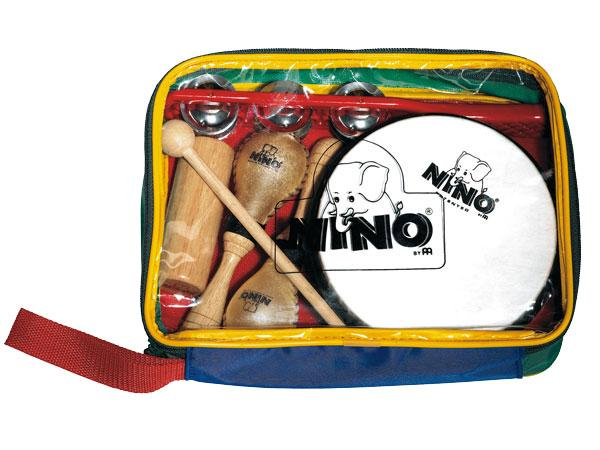 Percussion set for kids Nino percussion                Nino Set 1 Rhythm Set