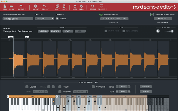 Synthesizer Nord Nordwave2