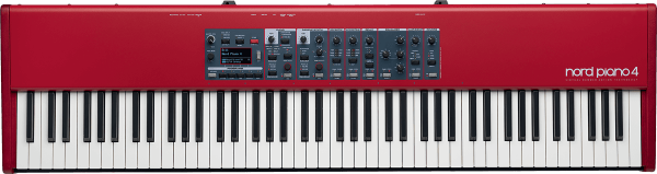 Stage keyboard Nord PIANO 4 - Rouge