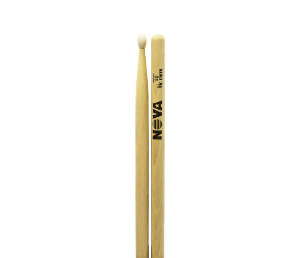 Drum stick Nova 2B Natural - Nylon tip