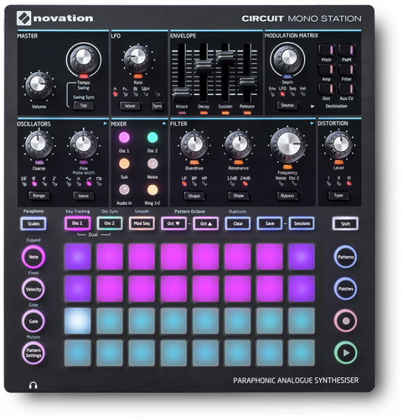 Expander Novation Circuit Mono Station