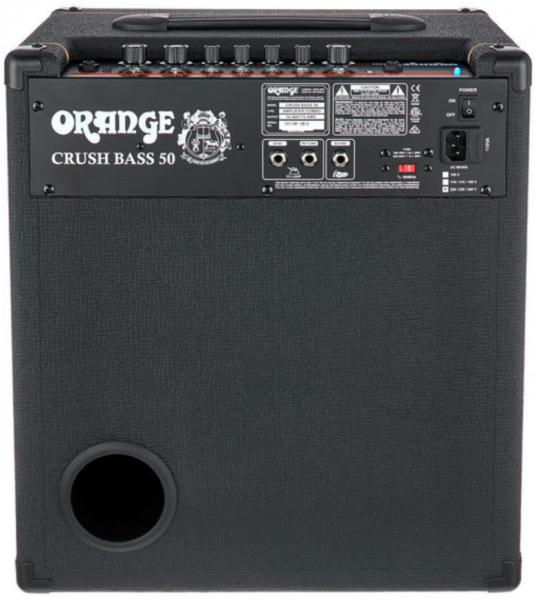 Bass combo amp Orange Crush Bass 50 - Black