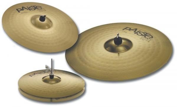 Cymbals set Paiste 101 Brass Universal Set 14/16/20