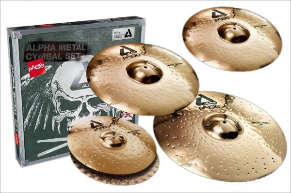 Cymbals set Paiste Alpha Brillant Universal Set 14/16/18/20