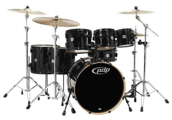 Strage drum-kit Pdp PD806067 Concept Maple 7 fûts - 6 shells and more - Pearlescent black