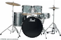 Junior drum kit Pearl Roadshow Junior 18 RS585CC-706 - Charcoal metallic