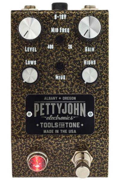 Overdrive, distortion & fuzz effect pedal Pettyjohn electronics Gold Overdrive