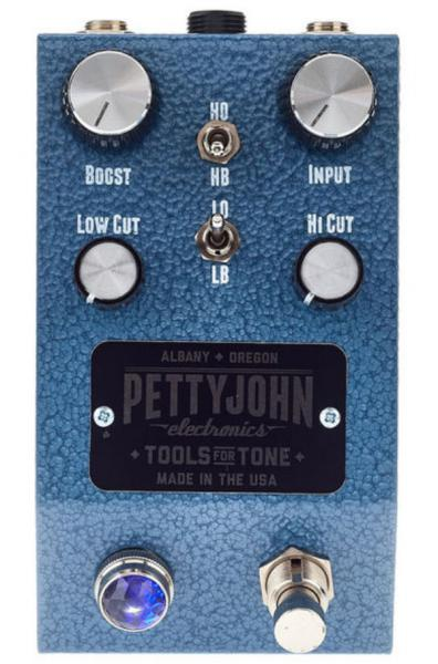 Volume, boost & expression effect pedal Pettyjohn electronics Lift Buffer/Boost