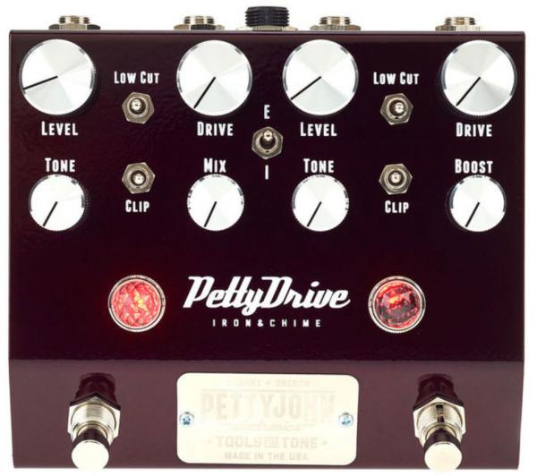 Overdrive, distortion & fuzz effect pedal Pettyjohn electronics Pettydrive V2 Overdrive
