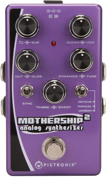 Guitar synthesizer Pigtronix Mothership 2 Analog Synthesizer