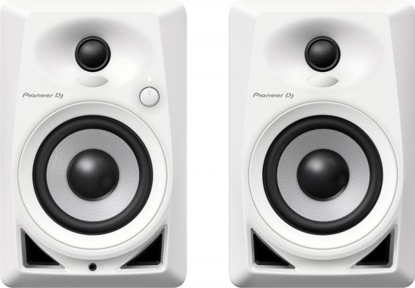 Active studio monitor Pioneer dj DM-40-W - One pair