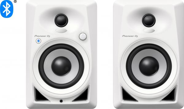 Active studio monitor Pioneer dj DM-40BT-W - One pair