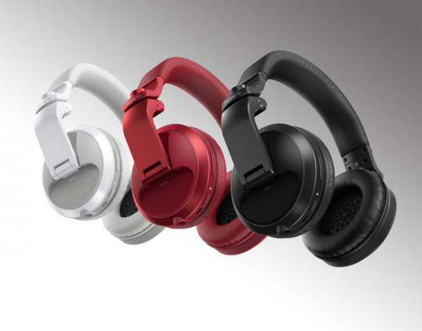 Studio & dj headphones Pioneer dj HDJ-X5BT-R - rouge