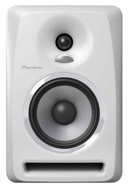Active studio monitor Pioneer dj S-DJ50X White - One piece