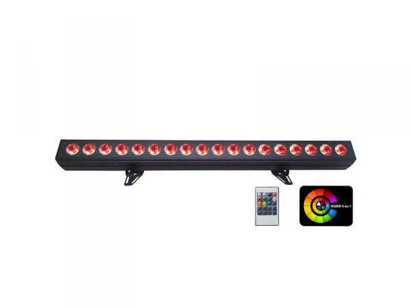Led bar Power lighting Barre LED 18X15W Quad