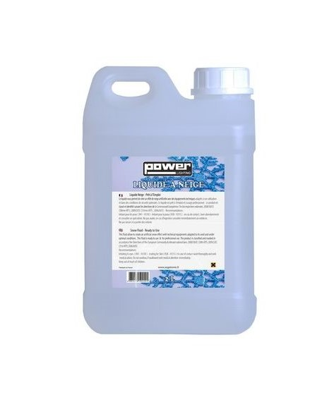 Juice for stage machine Power lighting Liquide neige 2L